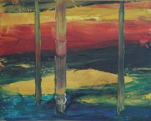paysage peintures période 1999-2004