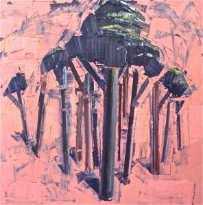 arbres peintures période 2011-2013